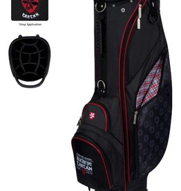 Wincraft Ohio State Tartan Stand Golf Bag Black