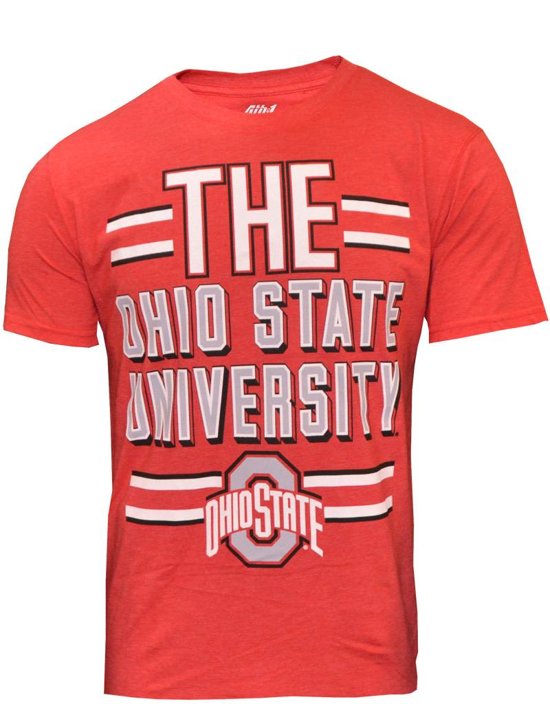 Top of the World The Ohio State University Red T-Shirt