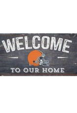 Cleveland Browns Welcome Sign