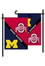 "House Divided Two - Sided Garden Flag 13""x18"""