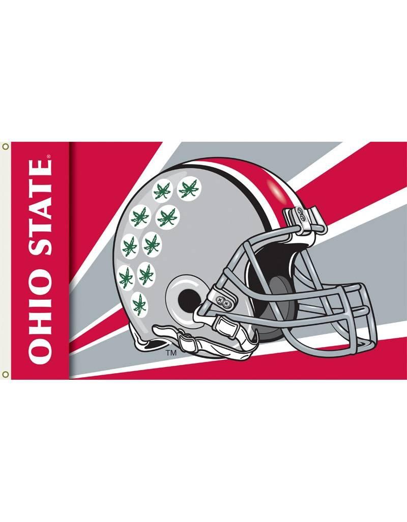 Ohio State Helmet 3'x5' Flag
