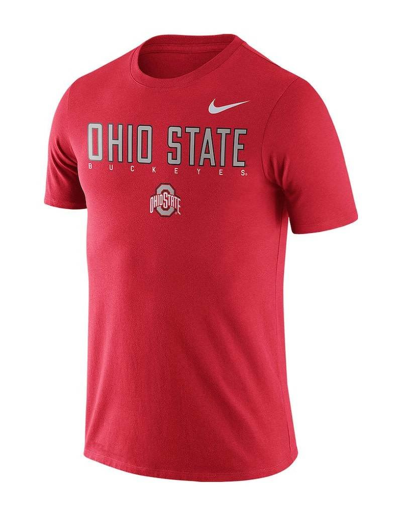 Nike Ohio State Youth Nike 2018 Facility Cotton T-Shirt