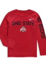 Nike Ohio State University Nike Youth Legend Long Sleeve