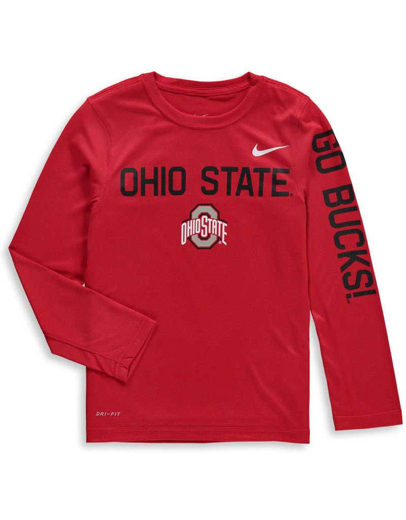 Nike Ohio State University Nike Youth Legend Long Sleeve
