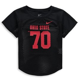 Nike Ohio State Girl's Nike Mod Fan Number T-Shirt