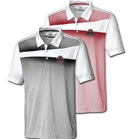 "Cutter & Buck Ohio State Buckeyes Athletic O ""Ascend"" Print Polo"