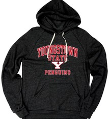 Youngstown State Penguins Mens Triblend Hoodie