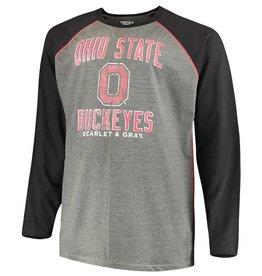 Top of the World Ohio State Buckeyes Long Sleeve AAA Raglan T-Shirt