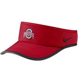 Nike Ohio State Buckeyes Nike Featherlight Performance Visor