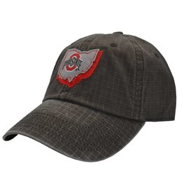 Top of the World Ohio State Buckeyes Top of the World Stateline Snapback Hat