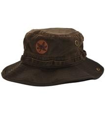 Top of the World Ohio State Buckeyes Chesnut Waxed Bucket Hat