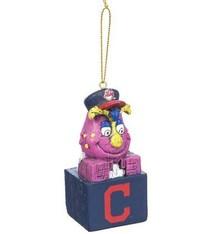 Cleveland Indians Slider Tiki Ornament