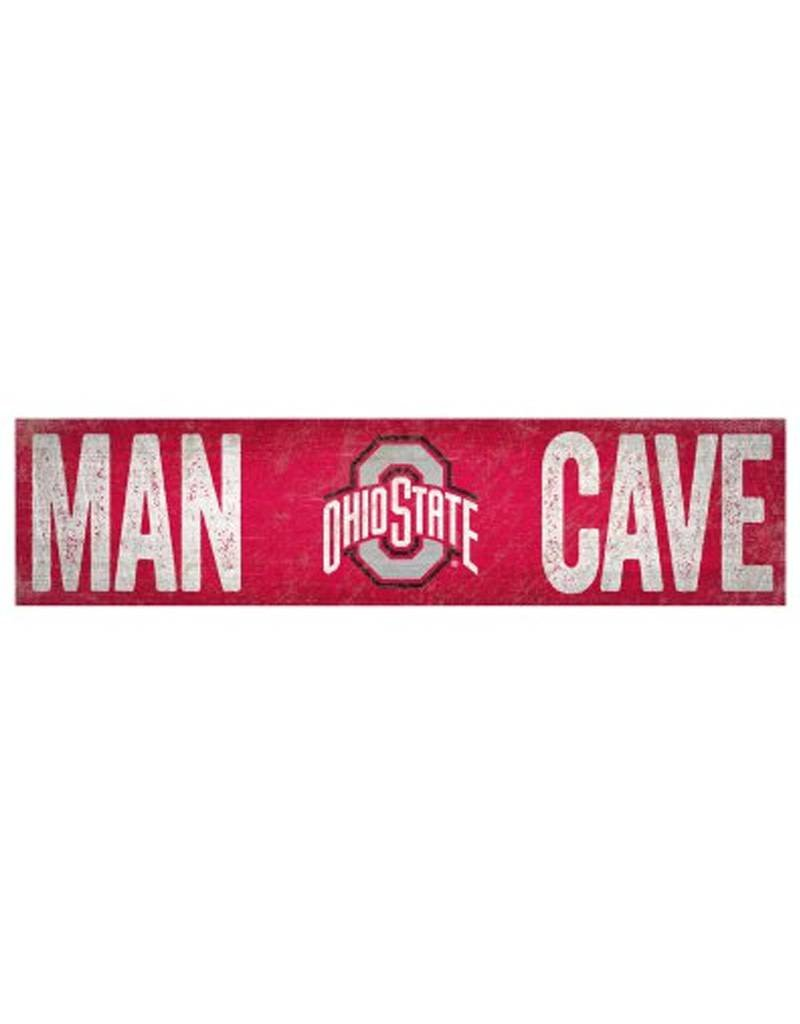 Ohio State Wooden Man Cave Sign