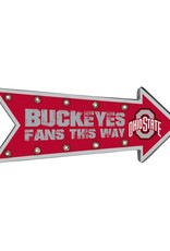 Forever Collectibles Ohio State University Arrow Marquee Sign