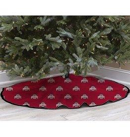 Ohio State University Christmas Tree Skirt