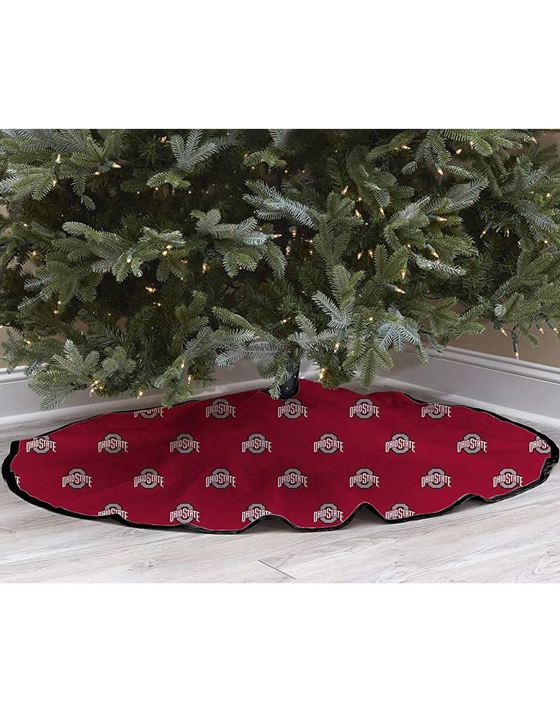 Ohio State Buckeyes Tree Skirt - Everything Buckeyes