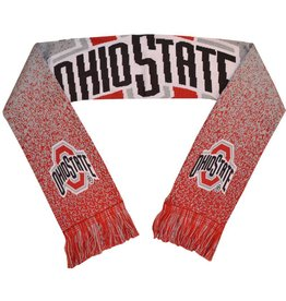 Forever Collectibles Ohio State Buckeyes Polyknit Logo Scarf
