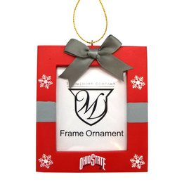Ohio State Buckeyes Photo Frame Ornament