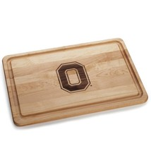Warther Boards 18x12 Ohio State Block O Cutting Board