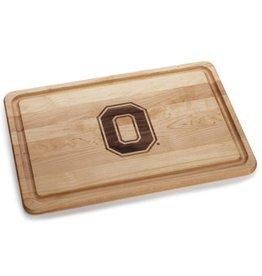Warther Boards 18x12 Ohio State Block O Cutting Board