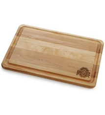 Warther Boards 18x12 Maple Engraved Athletic O Cutting Board