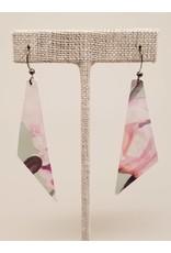 Dream Earrings Mint Floral