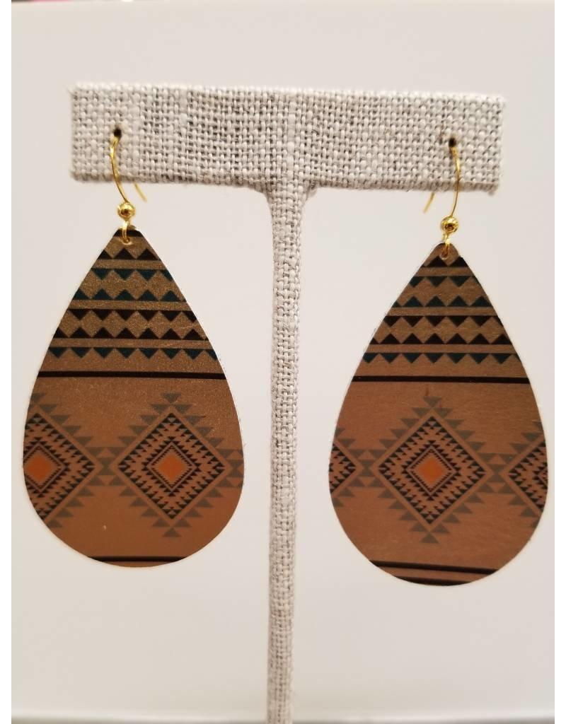 Darling Earrings Gold Tribal