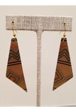 Dream Earrings Gold Tribal