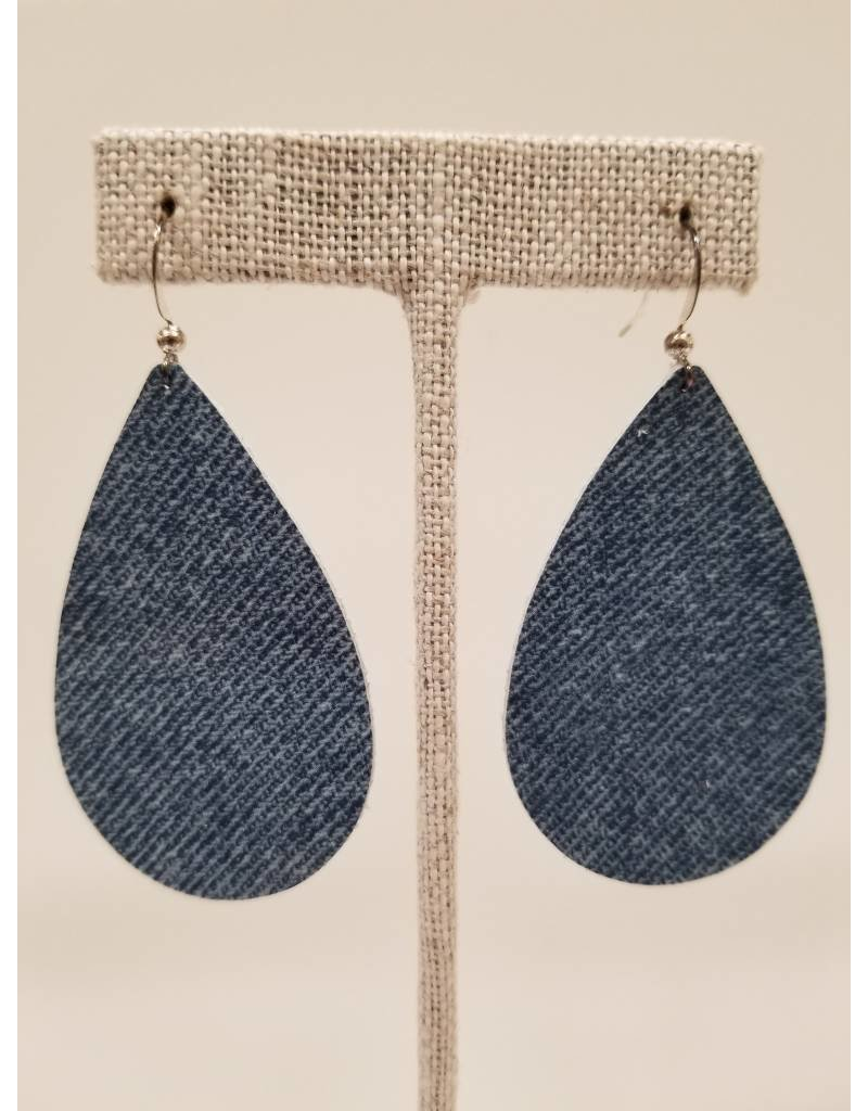 Darling Denim Earrings