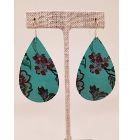 Darling Earring Turquoise Floral