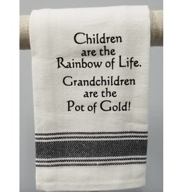 Children are the Rainbow Tea Towel