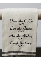 Dress Like Coco Tea Towel