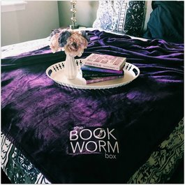 The Bookworm Box Blanket