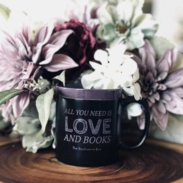 The Bookworm Box  Mug - All You Need Is Love And Books