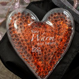Bookworm Box Heart Shaped Hot Cold Pack