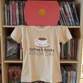Coffee & Books Kinda Day T-Shirt