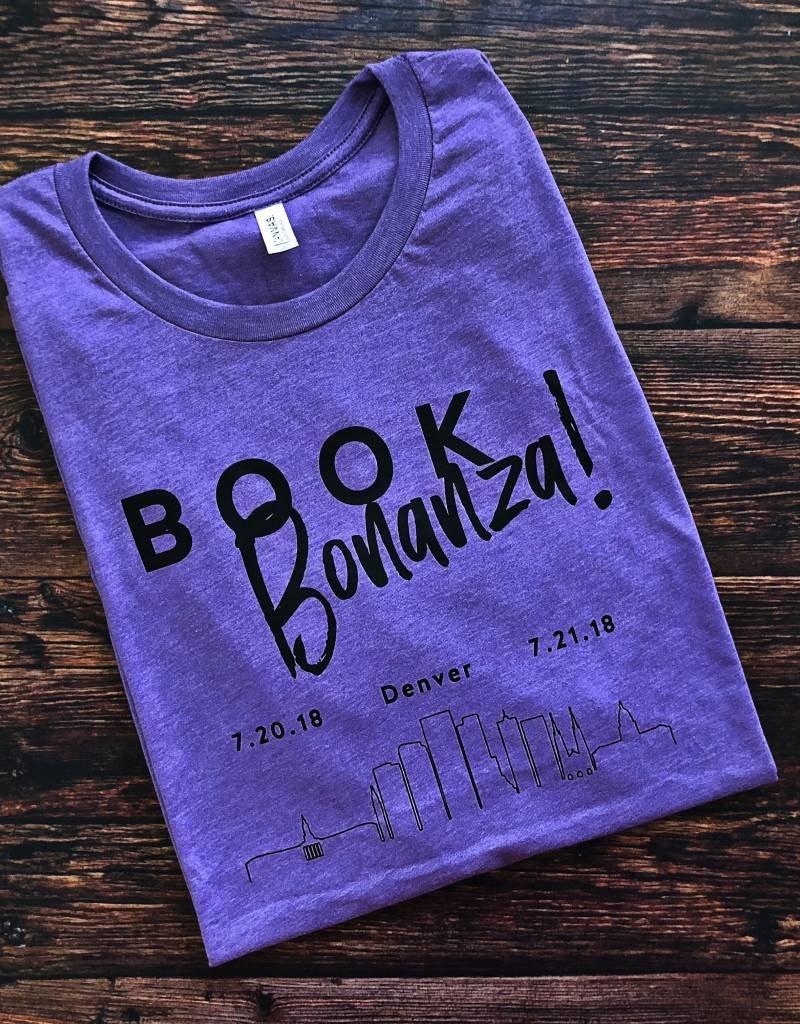 Book Bonanza Purple Swag T-Shirt