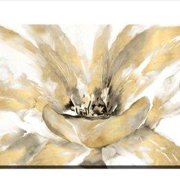 "Toile fleur jaune CONCERTO LUXE 36"" X 48"""