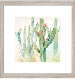 "Cadre Cactus à Fleurs #2 CACTUS GARDEN II 18"" X 18"""