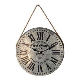 "Horloge galvanisé 14"""