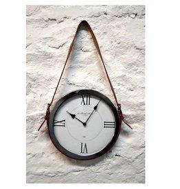 "Horloge lance de cuir 12"""