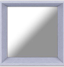 """Miroir gris 10.5"""" X 10.5"""""""