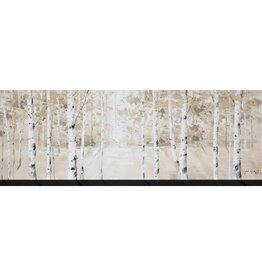 "Toile bouleaux blancs BIRCH STAND 20"" X 60"""