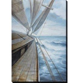 """Toile bateau dans la vague CAPTAINS BOW 39"""" X 59"""""""