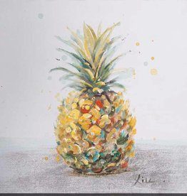"Toile ananas PINEAPPLE I 12"" X 12"""