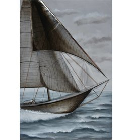 "Toile voilier WIND IN MY SAILS 40"" x 60"""