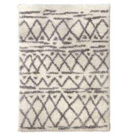 """Carpette ivoire gris 5.2"""" x 7.2"""" Carrara"""