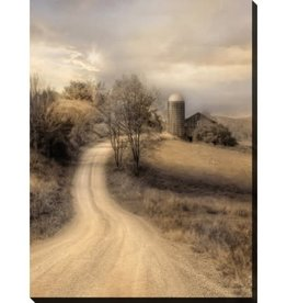 """Toile Country road 30"""" x 40"""""""
