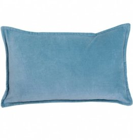 "Coussin Zenith turquoise 12"" x 20"""