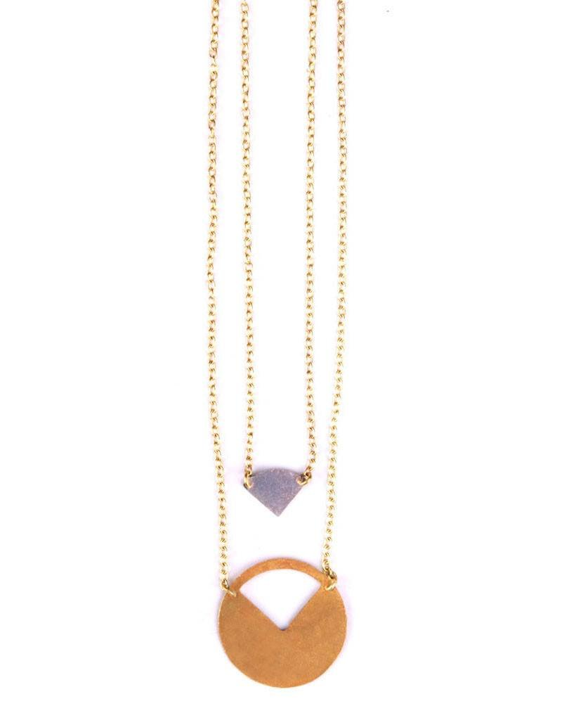 Mata Traders Cut It Out Necklace